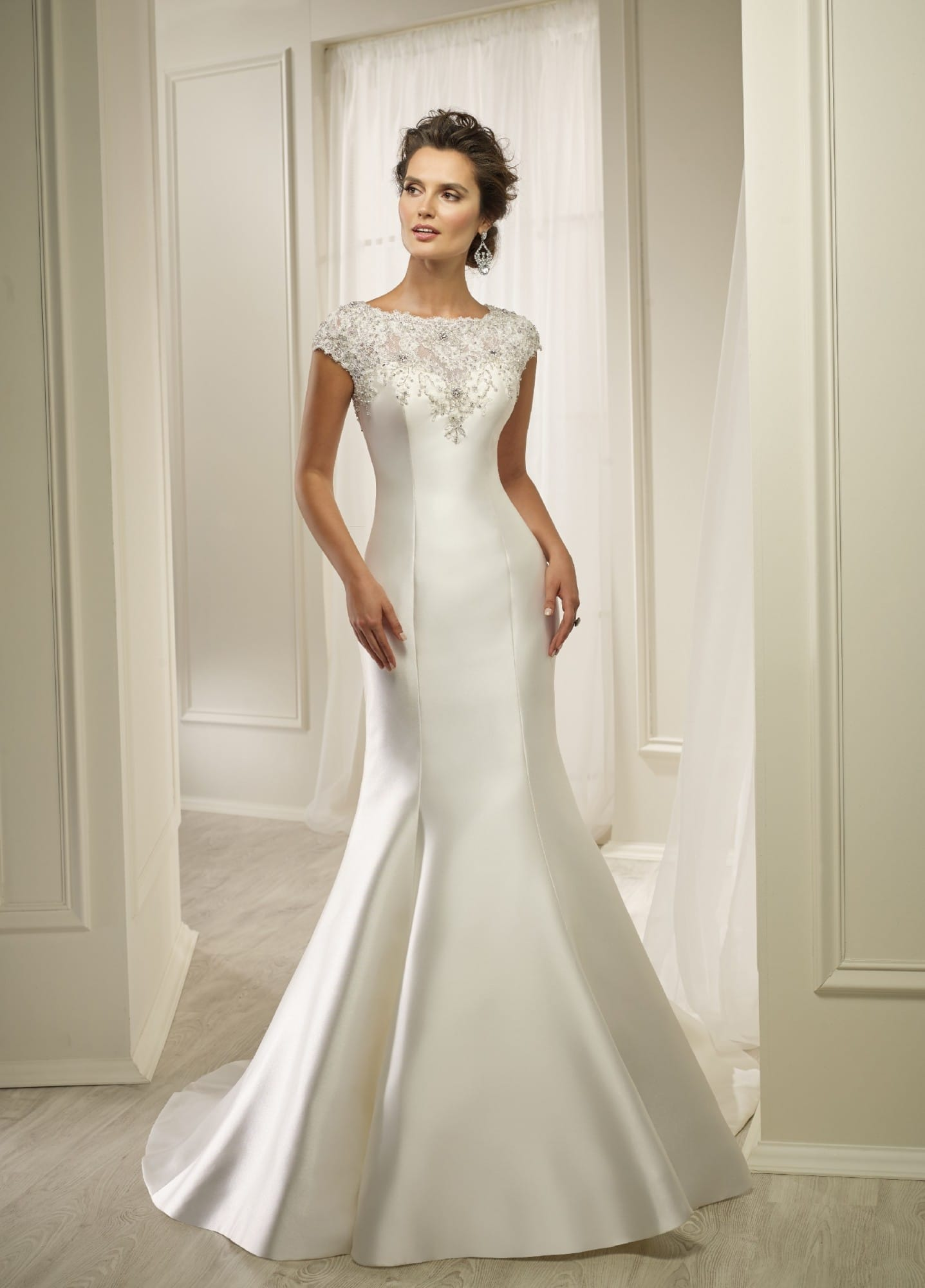 Brand New Ronald Joyce Honey Wedding Dress