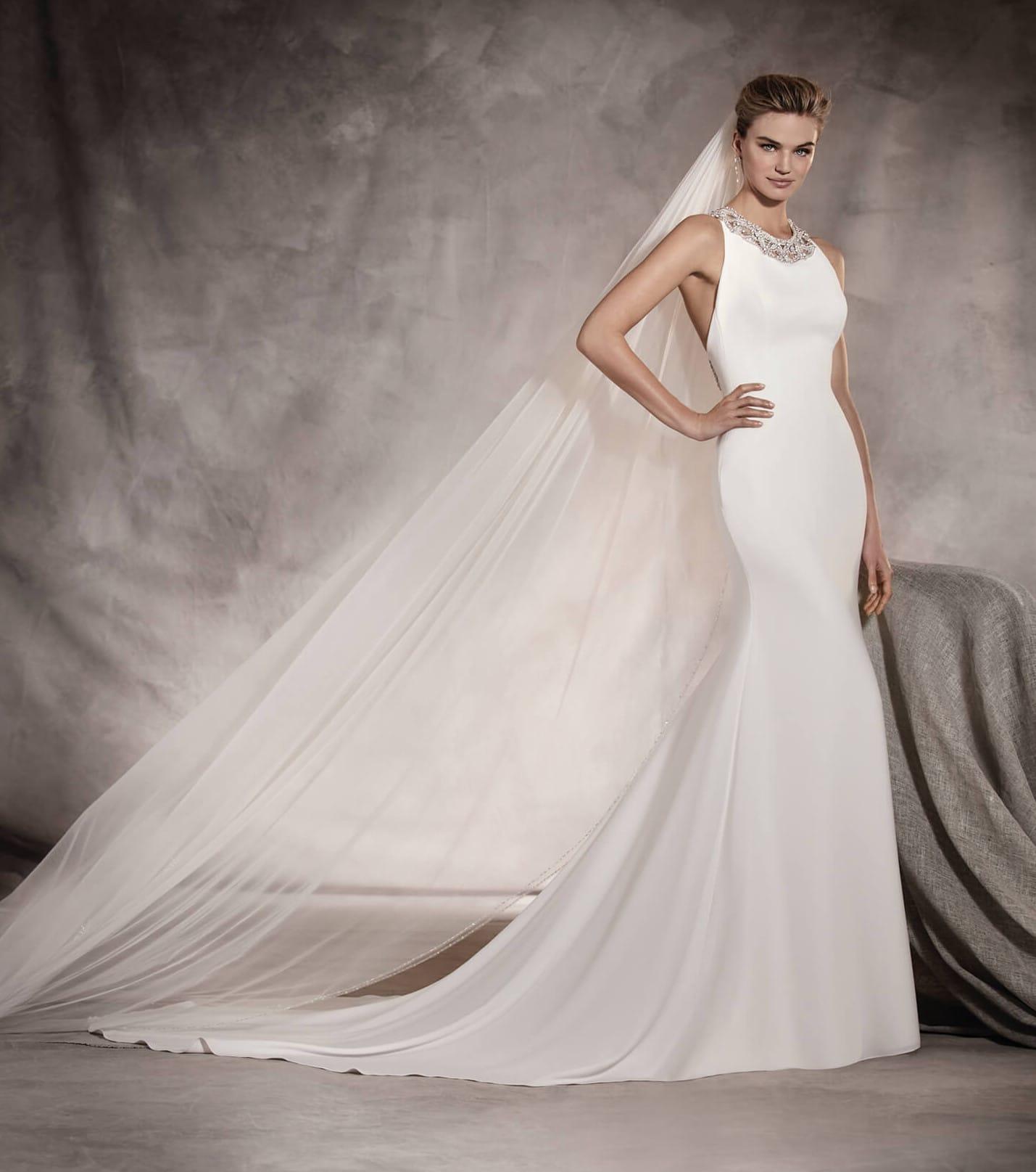 Pronovias Aoenita 2017 Collection Wedding dress