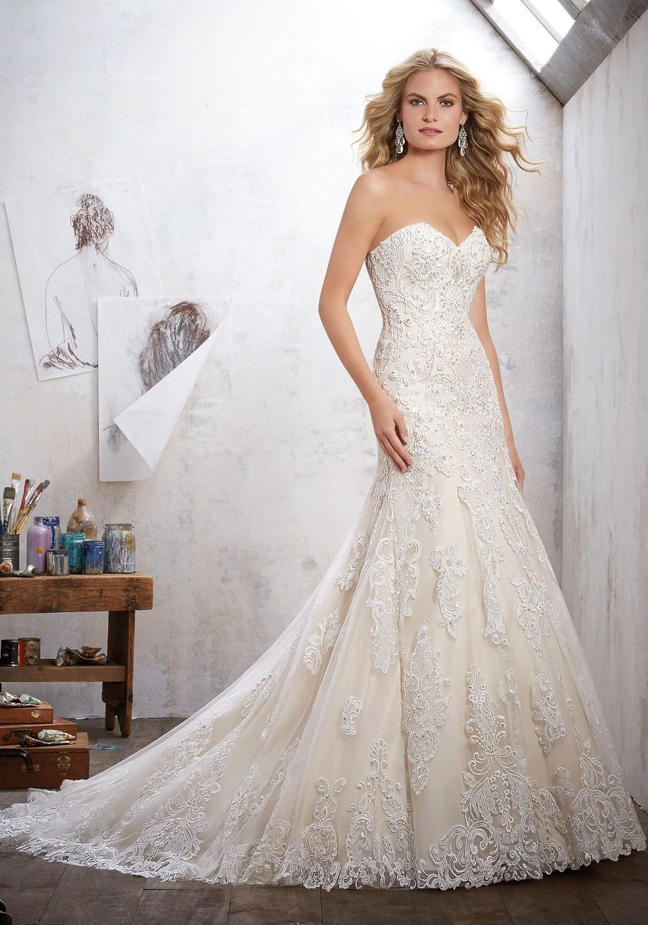 Morilee by Madeline Gardner Mackinley 8102 Gown