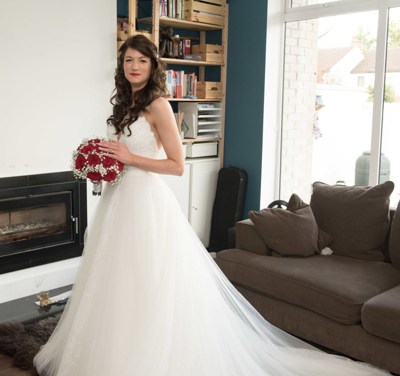 Allure Bridal 9505L tulle ballgown
