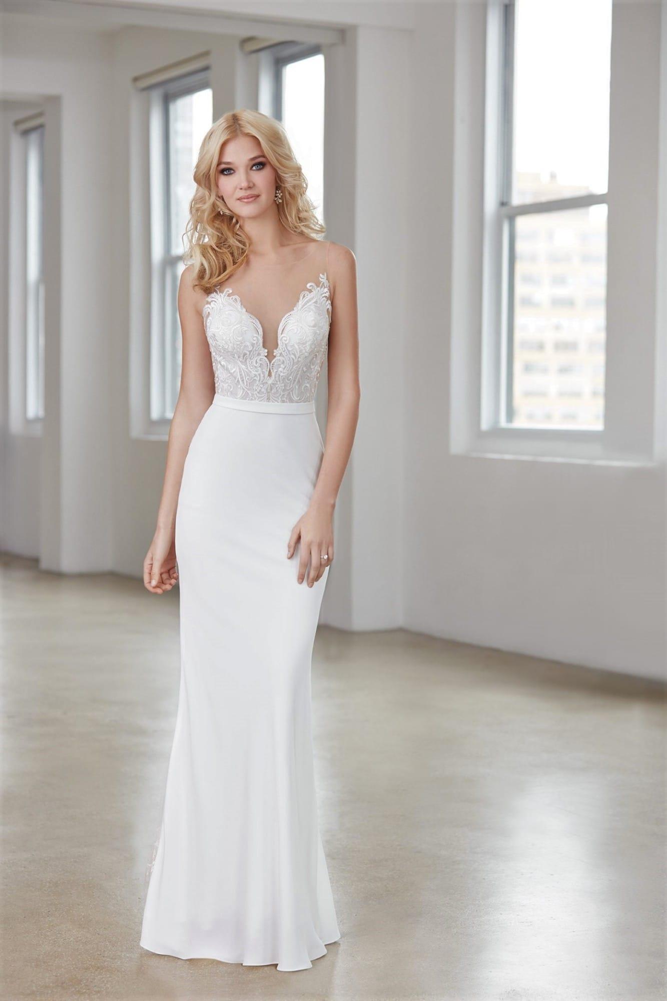Never Worn – Madison James MJ355 Wedding Dress
