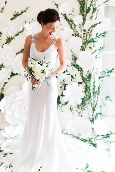 Rose and Delilah Eliza Gown
