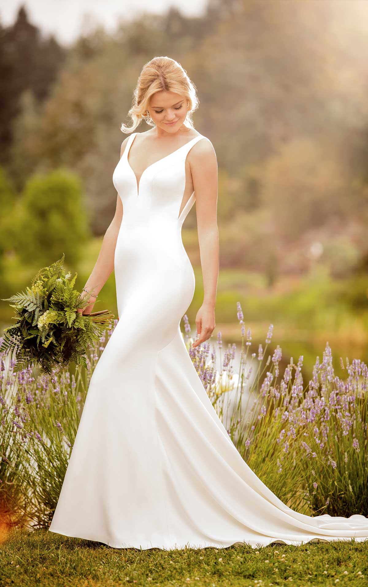Essense of Australia Wedding Dress D2473