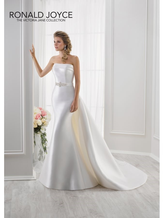 Victoria Jane by Ronald Joyce Lisa 18111 Wedding Dress – Modern silhouette with two additional looks
