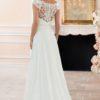 Stella York 6365 Beautiful off the shoulder lace back wedding dress