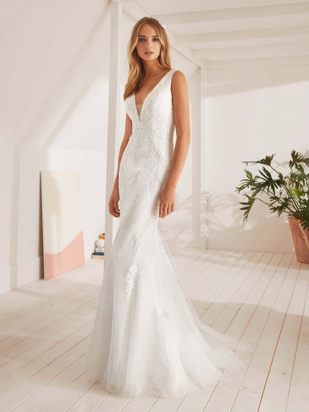 Pronovias White One: Olympo
