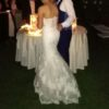Beautiful Enzoani Wedding Dress and Veil For Sale