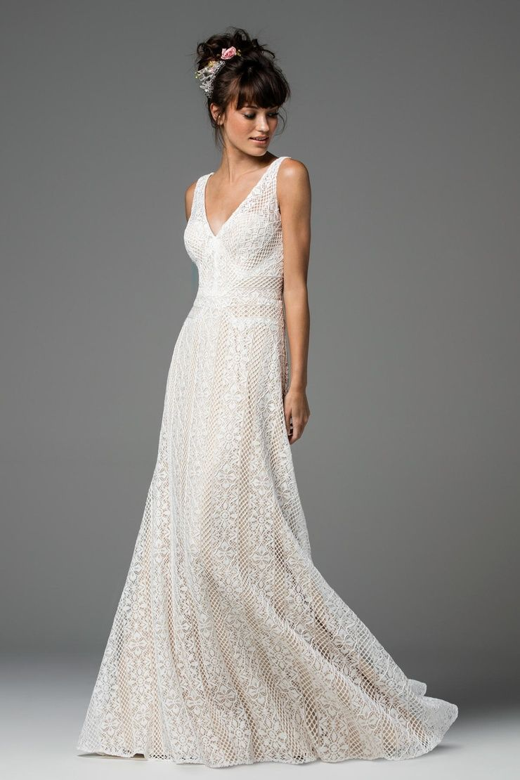 Brighton (Unbeaded) Dress from the Watters Willowby Collection