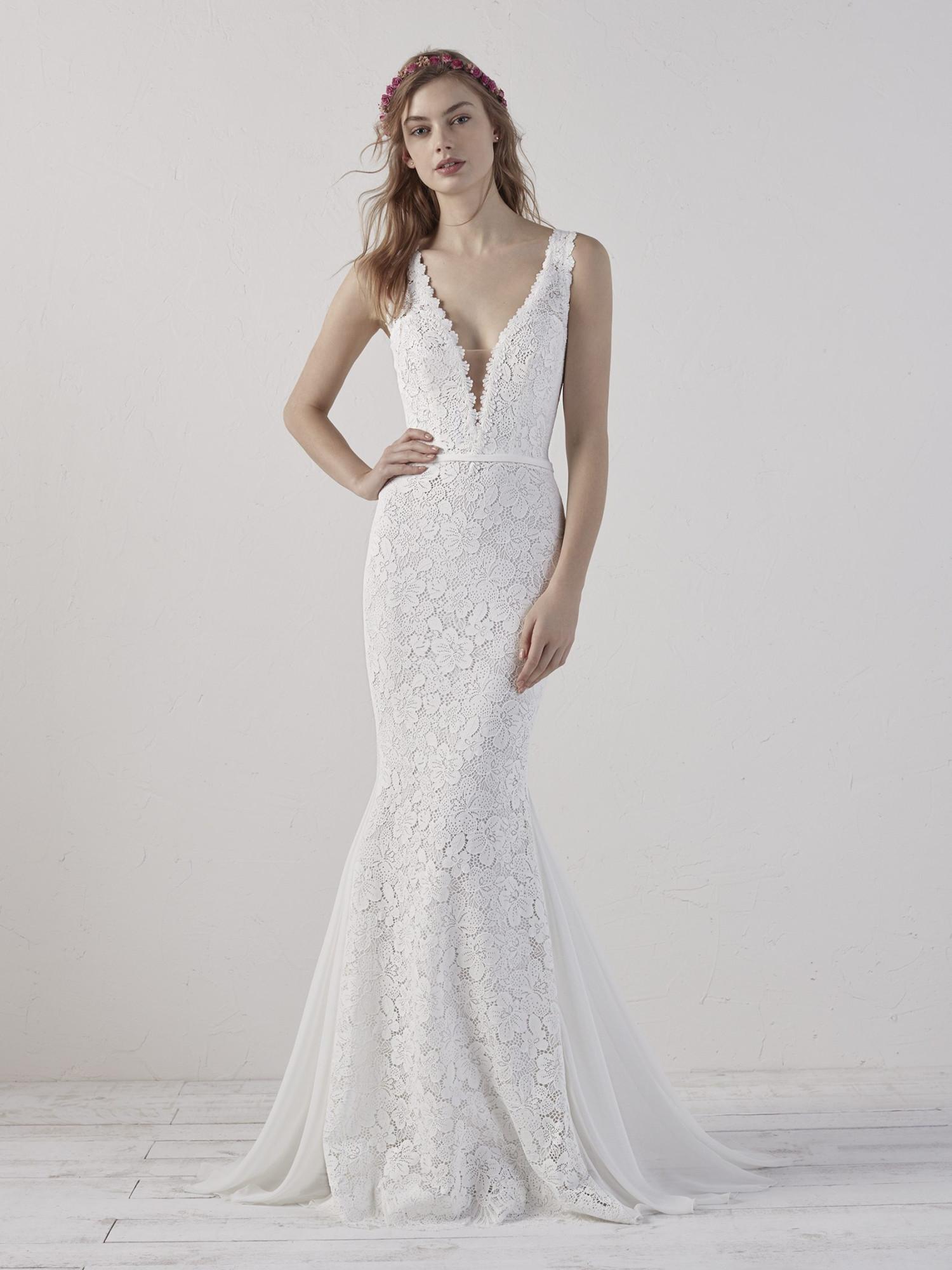 Beautiful Pronovias Eladia Gown