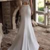 Fitted Modeca Damas Ivory Wedding Dress