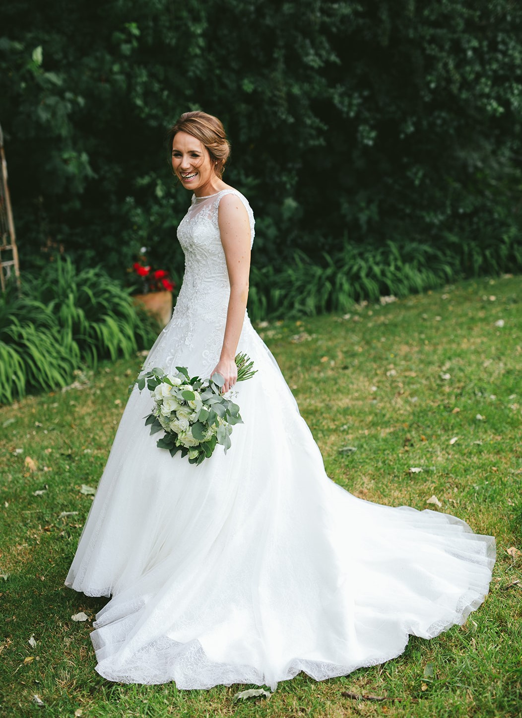 Beautiful Annais Bridal Ballgown Dress