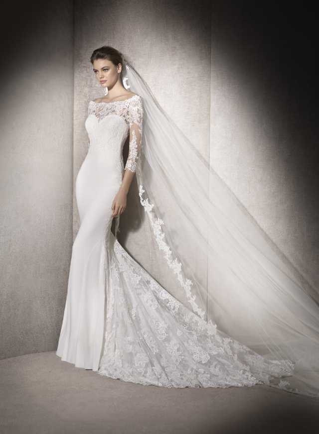 San Patrick Macedonia Wedding Dress