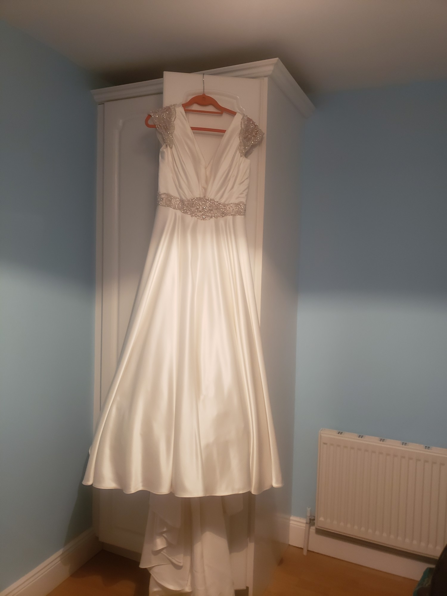 Sylvia Rose Tamsin Satin A Line Wedding Dress