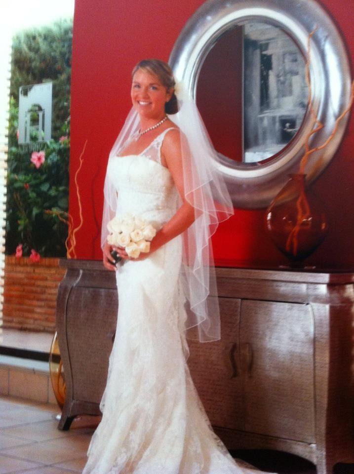 White One Lace Wedding Dress