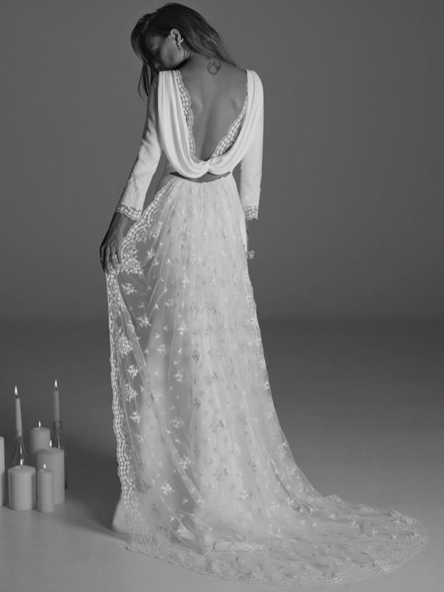 Suki Handmade Backless Rime Arodaky Dress