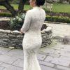 French by Wendy Makin Belfort Embellished Wedding Dress
