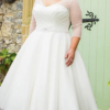 Special Day BB18717 – Vintage tea length wedding dress