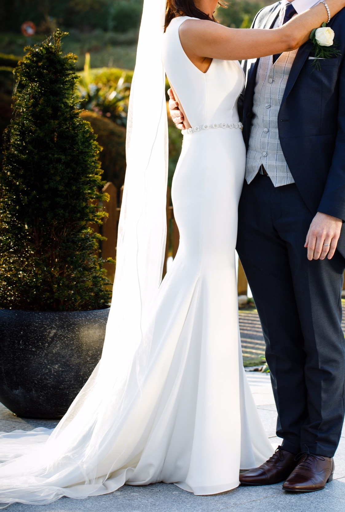 Mikaella – Elegant fit & flare wedding dress style #2200