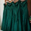 4 x Dessy Alfred Sung Bridesmaid Dresses – Hunter Green