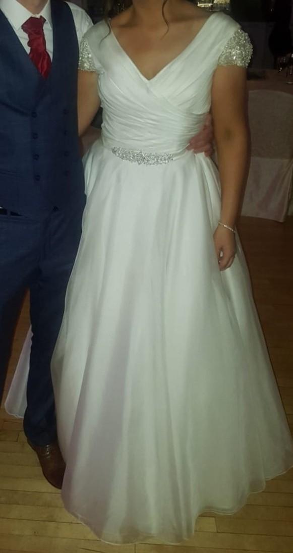 White Rose R1097 Ivory Wedding dress