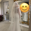 BRAND NEW: Mark Lesley 7290 Wedding Dress with veil and stole