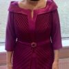 Size 10 Veni Infantino Mulberry Dress