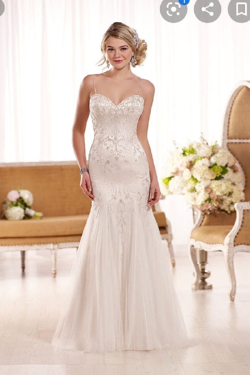 Essense of Australia D1853 Beautiful Beaded Gown