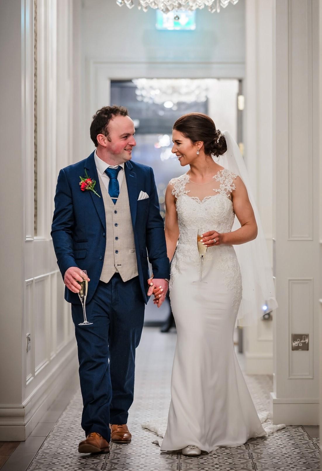 Stunning Sacha James Wedding dress