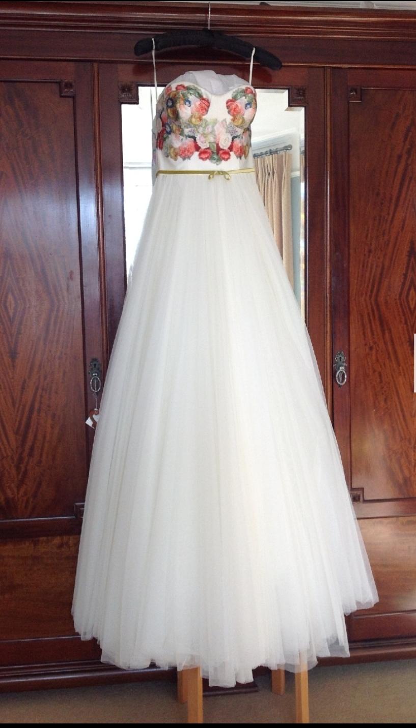 Beautiful David Fielden Wedding Dress