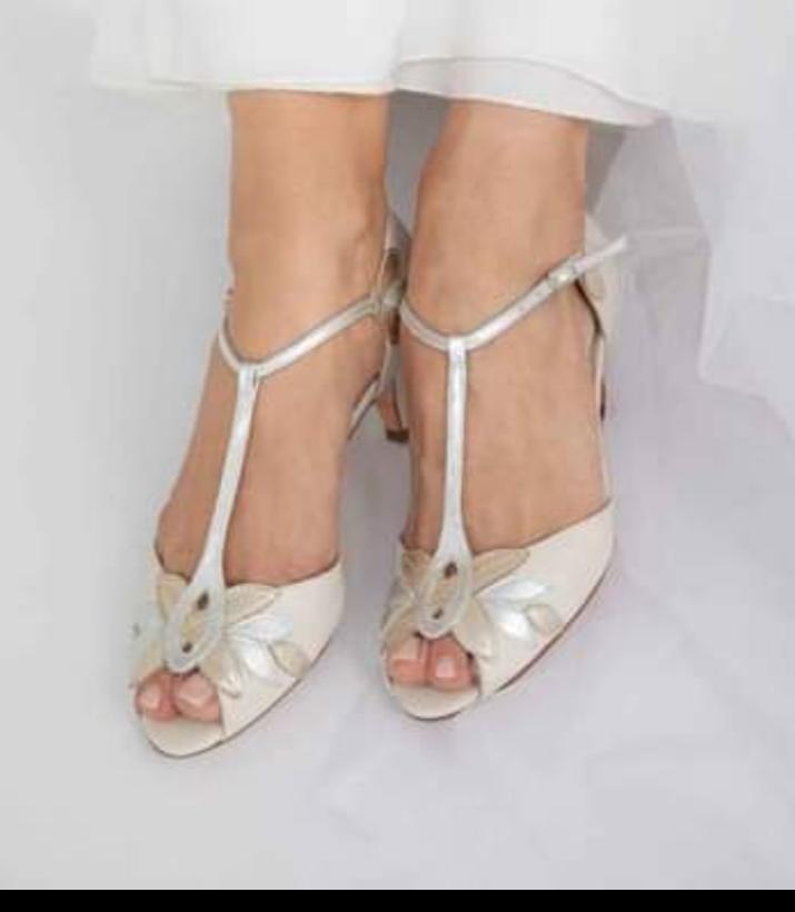 Rachel Simpson Isla Ivory Bridal Shoes