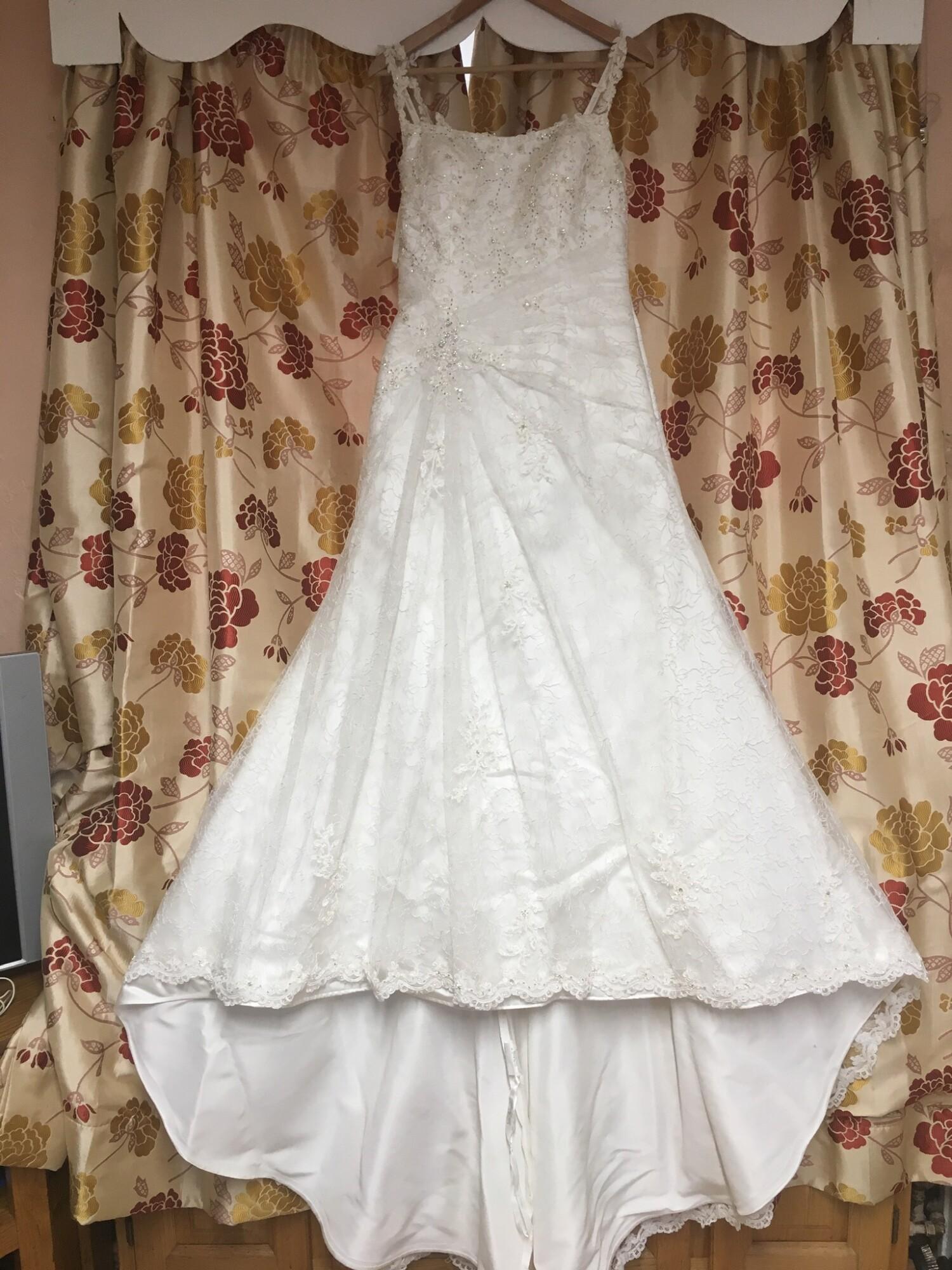 Justin Alexander Fishtail Wedding Dress