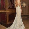 Calla Blanche Backless Wedding Dress