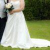 Phil Collins A line Wedding Dress