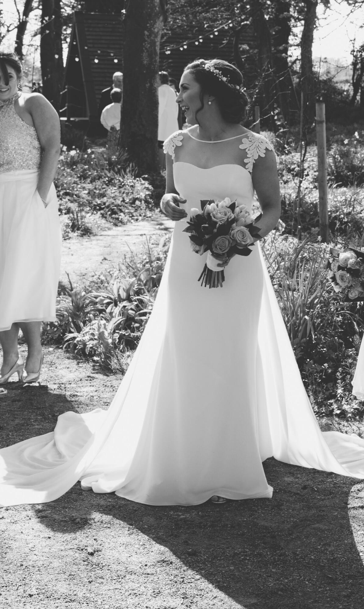 Mikaella 2160 Petite fit and flare dress