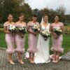 Kathy De Stafford Bespoke & Custom made bridesmaid dresses x 4