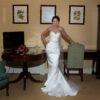 Ronald Joyce Hadley Strapless Mikado Dress