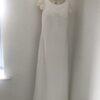 Pronovias Valina Elegant Crepe & Lace Mermaid Wedding Dress
