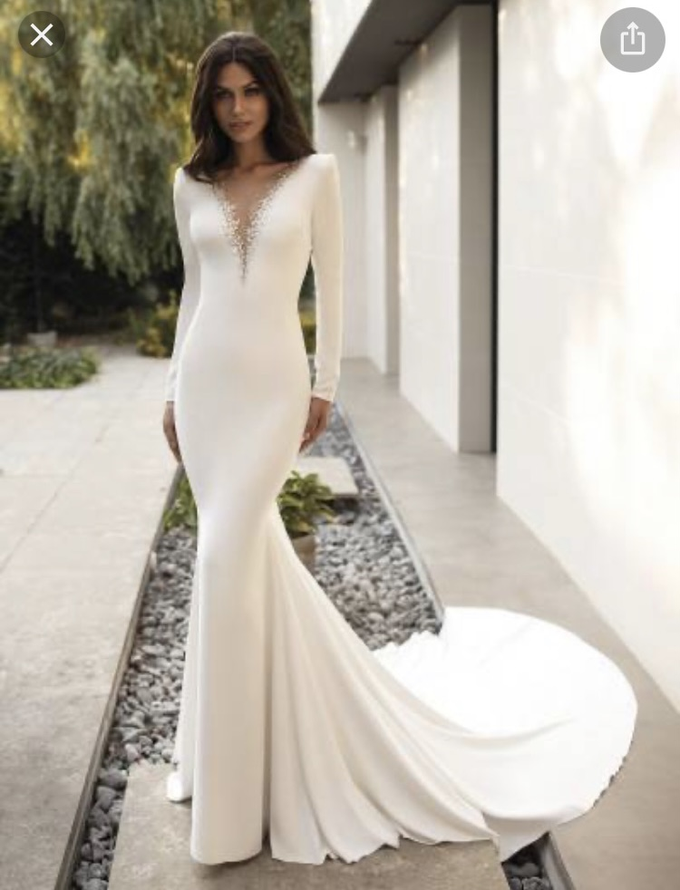 Pronovias 2021 Cruise Collection Elettra Wedding Dress