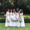 Jenny Yoo Sage and Ivory Bridesmaid Dress – Size 10 UK