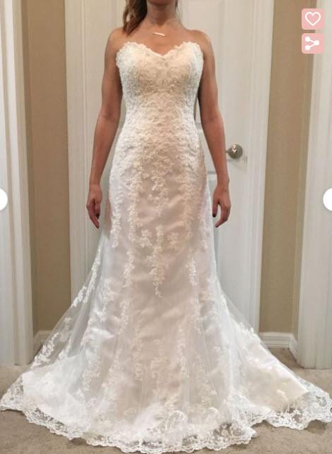 Maggie Sottero Emma New Dress & Unworn