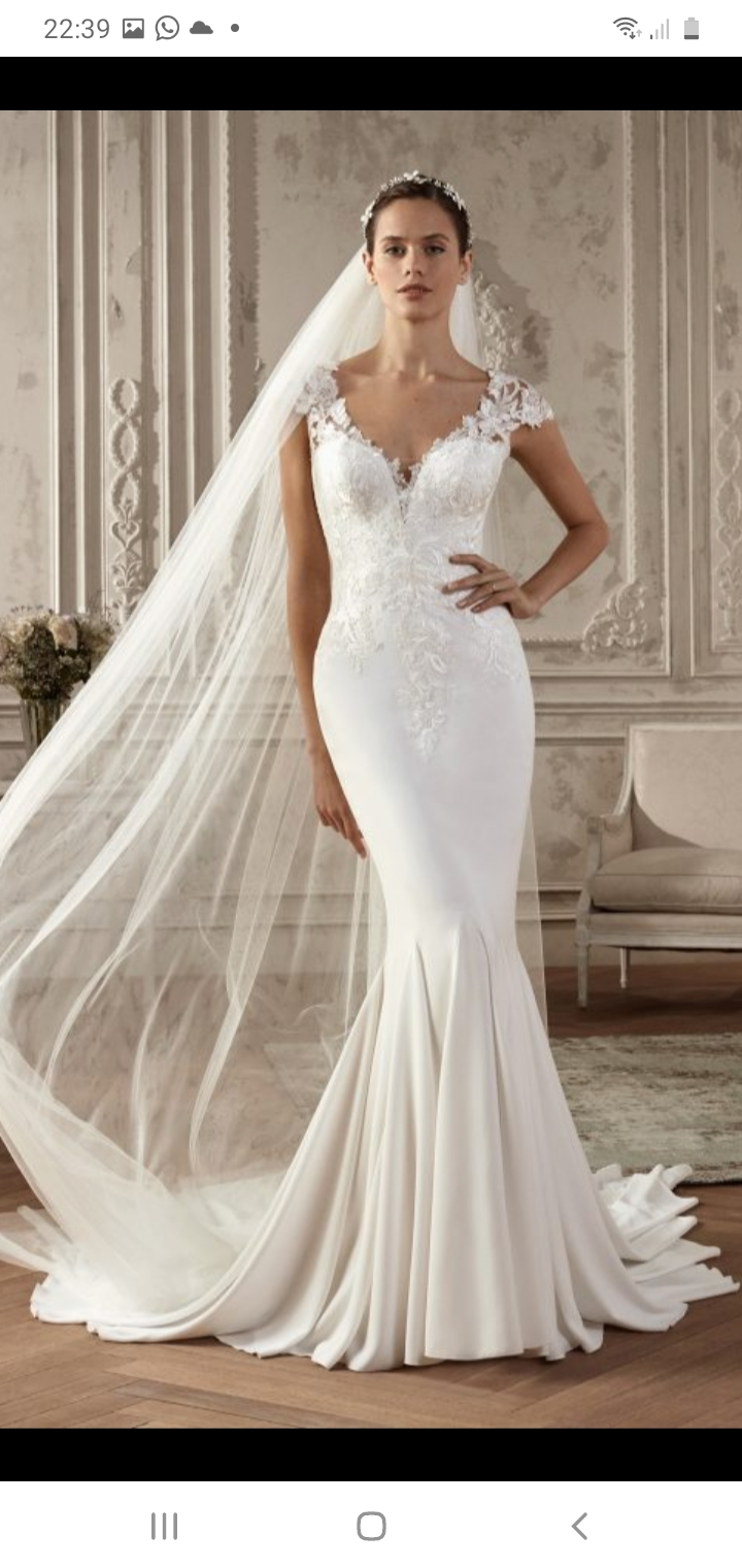 San Patrick Abie Wedding Dress